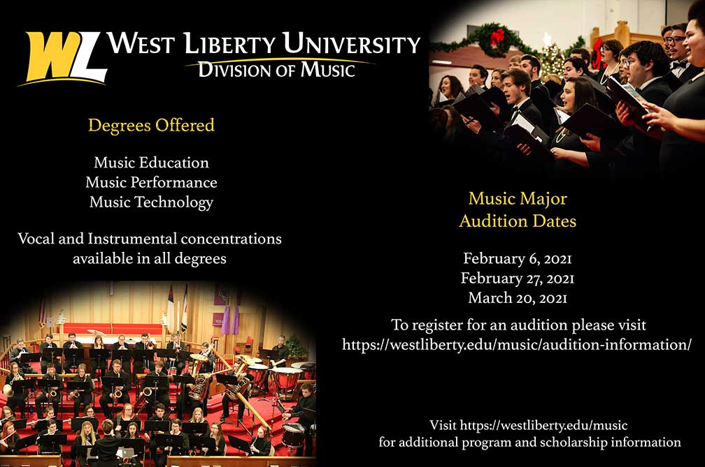 Platinum Sponsor West Liberty University Division of Music