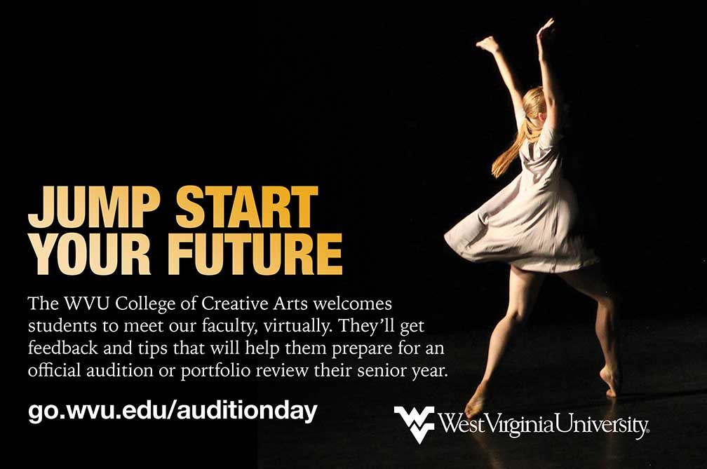Platinum Sponsor West Virginia University College of Creative Arts