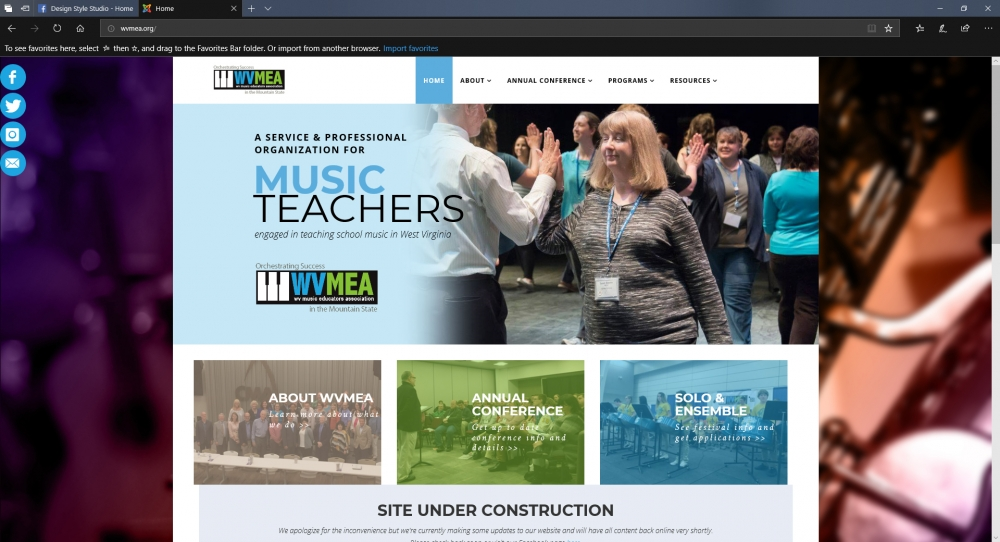 WVMEA is Getting a Website Facelift